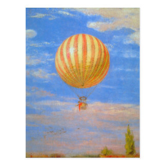 The Baloon by Pal Szinyei Merse Postcards