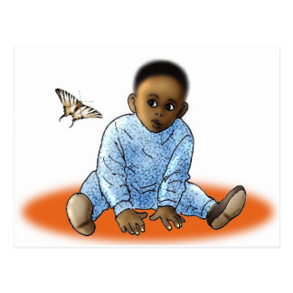 The Bambino and the Butterfly Postcard