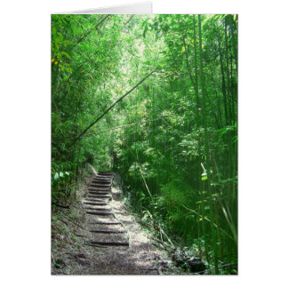 The Bamboo Forest Card