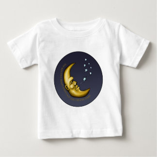 The Banana Moon Puffs out the Evening Stars Baby T-Shirt