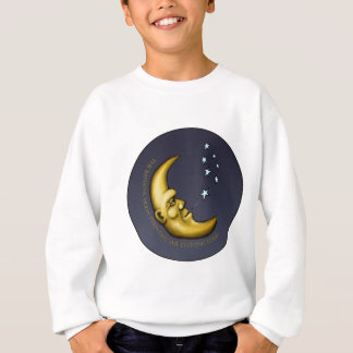 The Banana Moon Puffs out the Evening Stars Sweatshirt