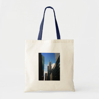 The Banco Santander and Dumont Buildings, NYC Budget Tote Bag