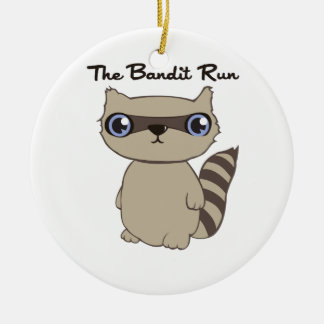 The Bandit Run Christmas Ornament