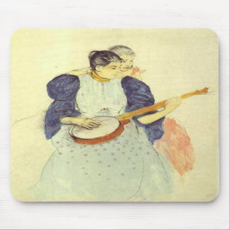 The Banjo Lesson, Mary Cassatt Mousepad