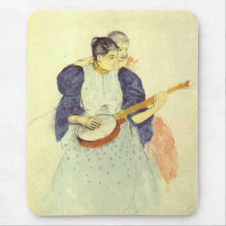The Banjo Lesson Mary Cassatt Mousepad
