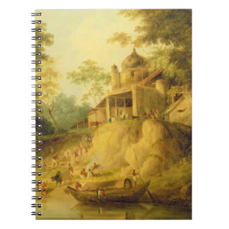 The Banks of the Ganges, c.1820-30 (oil on canvas) Notebook