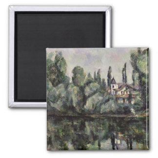 The Banks of the Marne, 1888 Square Magnet