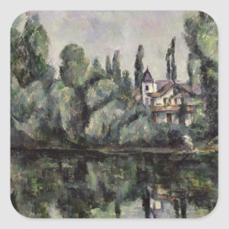 The Banks of the Marne, 1888 Square Sticker