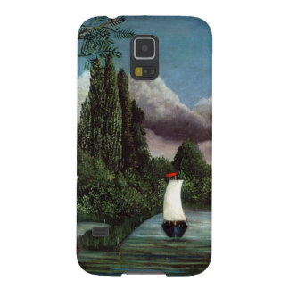 The Banks of the Oise, 1905 (oil on canvas) Galaxy S5 Covers