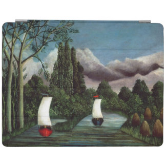 The Banks of the Oise, 1905 (oil on canvas) iPad Cover