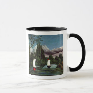 The Banks of the Oise, 1905 (oil on canvas) Mug
