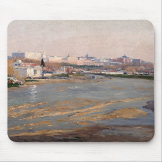 The Banks of the River Manzanares, 1912 (oil on ca Mouse Mat