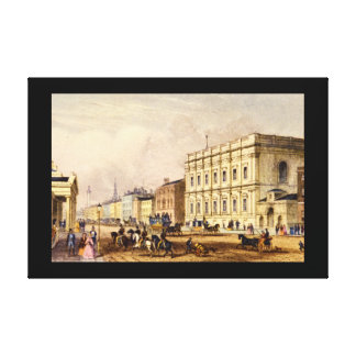 The Banqueting House, Whitehall_Engravings Canvas Print