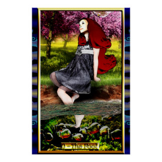 The Banx Tarot Fool Poster