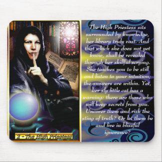 The Banx Tarot High Priestess Mousepad