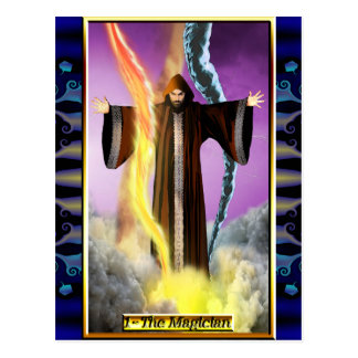 The Banx Tarot Magician Postcard