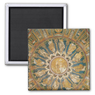 The Baptism of Christ 2 Square Magnet
