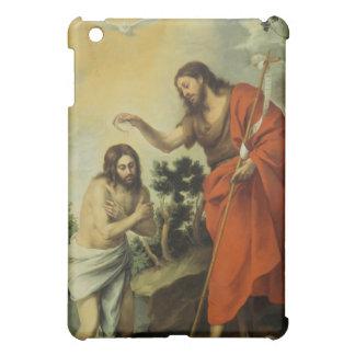 The Baptism of Christ by Bartolome Esteban Murillo iPad Mini Covers