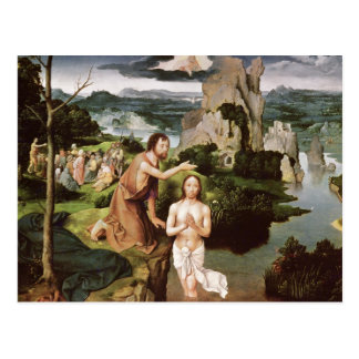 The Baptism of Christ, c.1515 Postcard