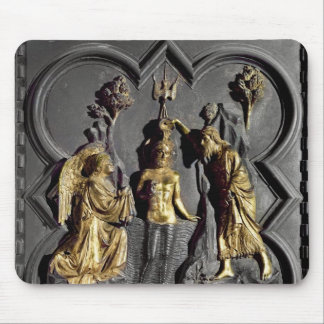 The Baptism of Christ, panel Mouse Mat