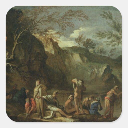 The Baptism of Christ Sticker