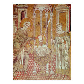 The Baptism of St. Paul By Ananias Postcard