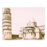 The Baptistery of St John - Leaning Tower Of Pisa Custom Announcement