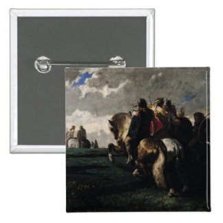 The Barbarians Before Rome 15 Cm Square Badge