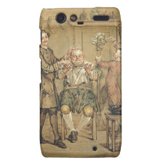 The Barber, c.1760-69 (oil on canvas) Droid RAZR Covers