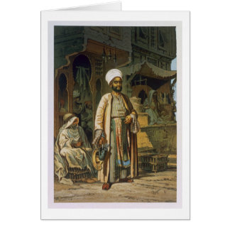 The Barber, from 'Souvenir of Cairo', 1862 (litho) Card