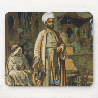 The Barber, from 'Souvenir of Cairo', 1862 (litho) Mouse Pad