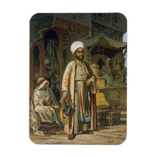 The Barber, from 'Souvenir of Cairo', 1862 (litho) Rectangular Photo Magnet
