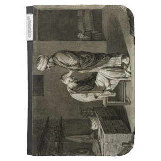 The Barber, from Volume II Arts and Trades of 'Des Kindle Folio Case