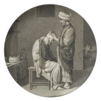 The Barber, from Volume II Arts and Trades of 'Des Plates