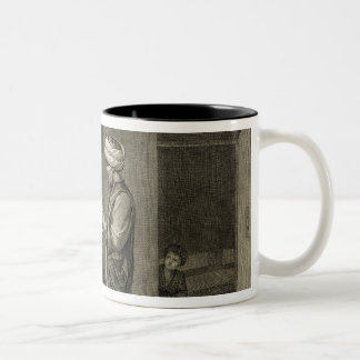The Barber, from Volume II Arts and Trades of 'Des Two-Tone Coffee Mug