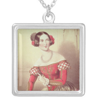 The Barber of Seville Silver Plated Necklace