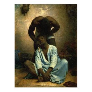The Barber of Suez by Bonnat Postcard