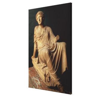 The Barberini Suppliant, Greek, c.470-440 BC (marb Canvas Print