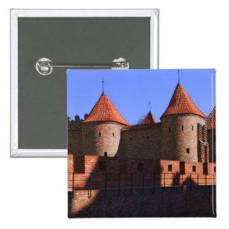 The Barbican, Warsaw, Poland 15 Cm Square Badge