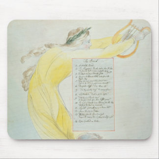 'The Bard', design 52 from 'The Poems of Thomas Gr Mouse Pad