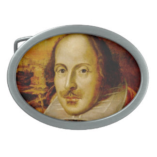 The Bard Oval Belt Buckles