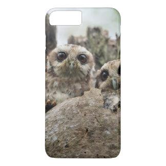 The Bare-legged Owl Or Cuban Screech Owl iPhone 8 Plus/7 Plus Case
