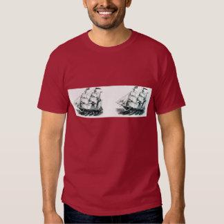 "The Bark ""Florida"" Sailing Ship Bookmark Shirt"