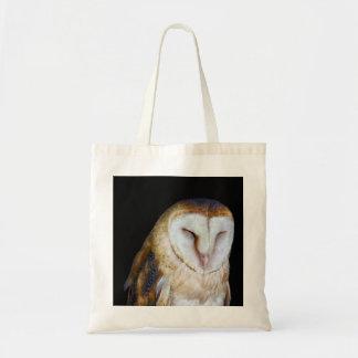 The Barn Owl Budget Tote Bag