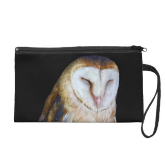 The Barn Owl Wristlet Clutches