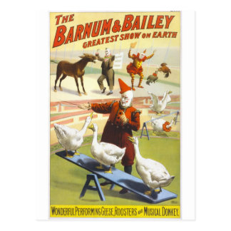 The Barnum Bailey Circus Post Cards