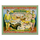 The Barnum & Bailey Greatest Show on Earth ~1895 Poster