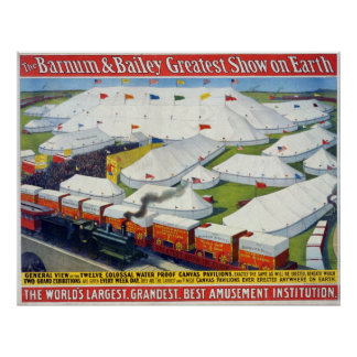 The Barnum & Bailey greatest show on Earth Print