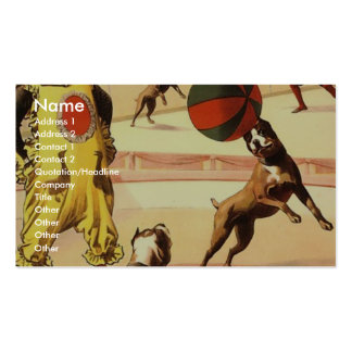 The Barnum & Bailey greatest show on earth The mar Pack Of Standard Business Cards