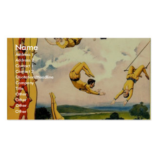 The Barnum & Bailey greatest show on earth The wor Pack Of Standard Business Cards